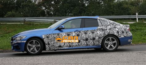 Bmw 4 Door Coupe by Bmw 4 Series Gran Coupe Four Door Spied With M Sport Pack