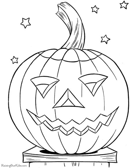 halloween coloring sheets 002