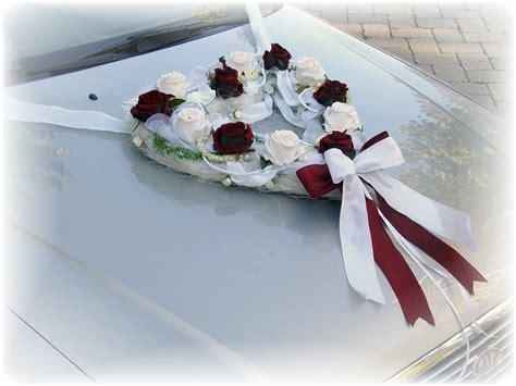 Auto Herz by 3 Teilig Autoschmuck Hochzeit Bordeaux Autoherz Kaufen