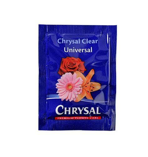 flower food chrysal clear flower food packet 200 x 1 pt chrysal
