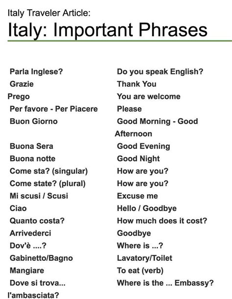 best italian words 17 best ideas about italian phrases on learn