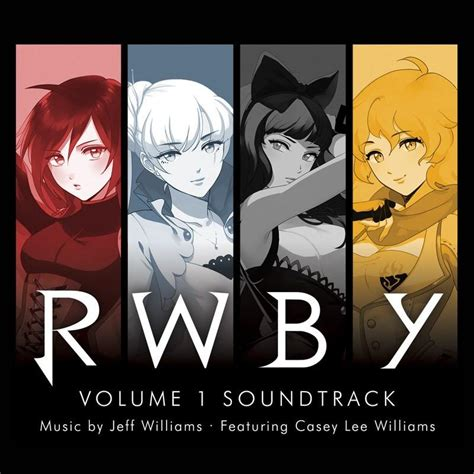your name vol 1 your name rwby volume 1 soundtrack 2 cd set rooster teeth store