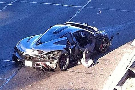 p1 crash mclaren p1 crash gives owner a black and blue friday