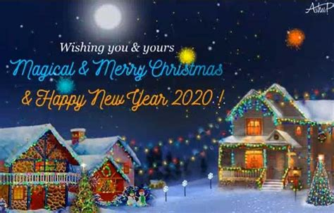 magical christmas  year  merry christmas wishes ecards