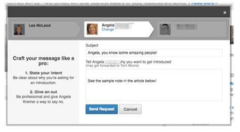 Linkedin Introduction Letter Exle 8 Steps To Ask For A Linkedin Introduction Lea Mcleod Confidence Leamcleod