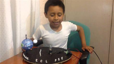 como hacer una maqueta del ecplise solar y lunar maqueta de eclipse solar y lunar youtube