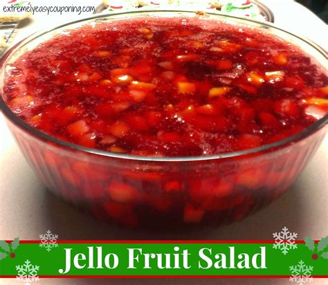 extremely easy couponing jello fruit salad recipe