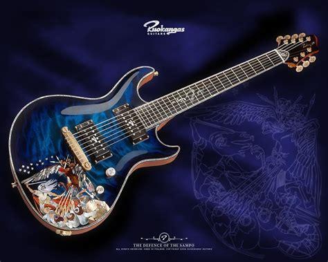 blue song guitar cool guitar backgrounds wallpaper cave