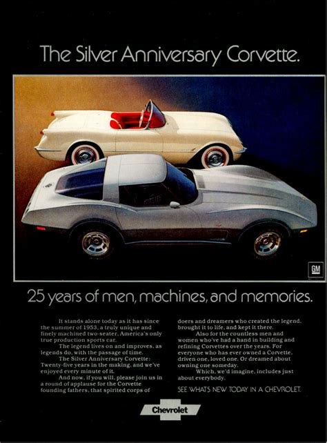 advertisements   corvette stingray