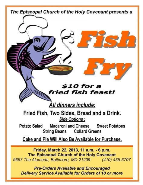 Fish Fry Flyer Template Fish Fry Flyer Template Avraam Info Free Fish Fry Flyer Template