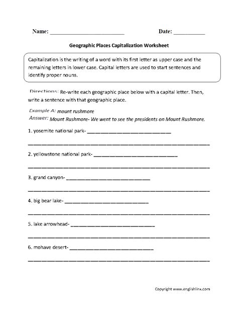 Grammar And Mechanics Worksheets by Printables Grammar Mechanics Worksheets Ronleyba