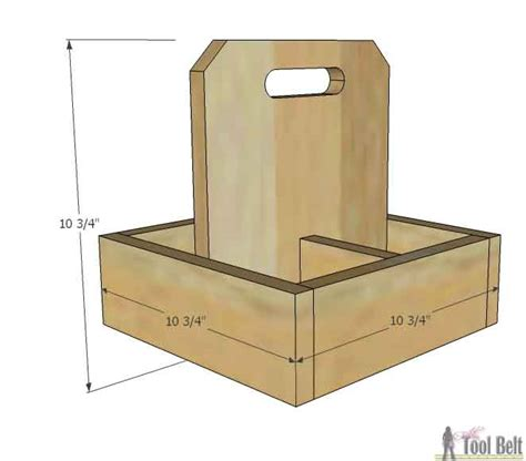 Square Planter Box Plans by Square Planter Box Caddy Jar Centerpiece