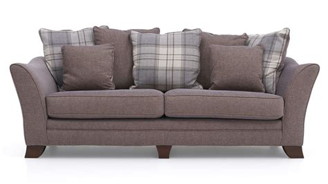 sterling sofas fontwell 4 seater pillow back sofa sterling furniture