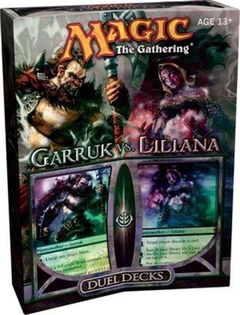mtg duel decks garruk vs liliana duel deck mtg magic the gathering