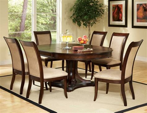Oval Dining Room Sets To Oval Dining Room Set Quality Furniture Affordable Prices