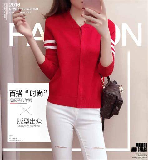 Sweater Jaket Baju Rajut Baju Wanita Kode Df6403 jaket wanita korea simple rajut myrosefashion