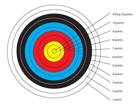 Target Sasaran Panah 40 X40 Cm archery info mesquite senior