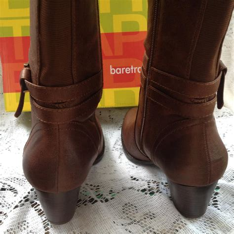 bare traps brown boots boots booties on sale