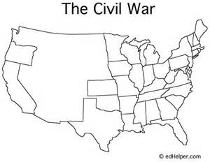 blank map of the us during civil war blank civil war map doreen s board maps