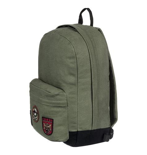 Backpack Ransel Dc Shoes 019 s backstack canvas 18 5l medium backpack 888327967554 dc shoes