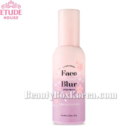 Etude Blur box korea etude house liquid blur spf50 pa 35g cherry blossom edition best