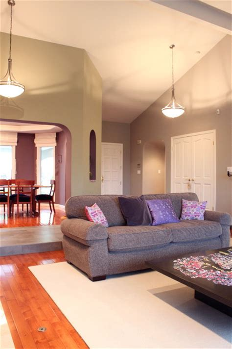 Violet Grey Interiors by Violet Grey And Green Color Design Eclectic Living