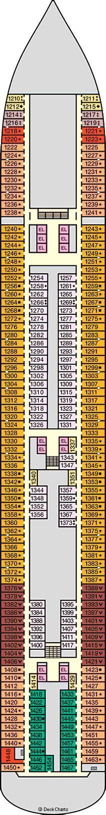 carnival breeze floor plan carnival breeze cruise ship deck plans on cruise critic