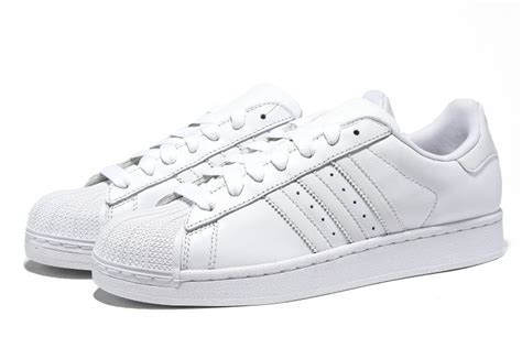 Adidas Superstar All White big discount adidas store 2 leather all white adidas