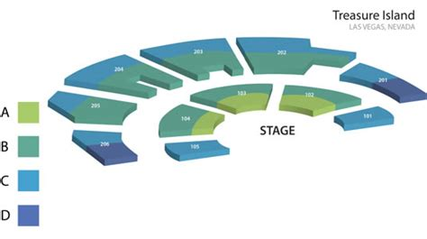 mystere theater seating map mystere discount tickets lasvegashowto