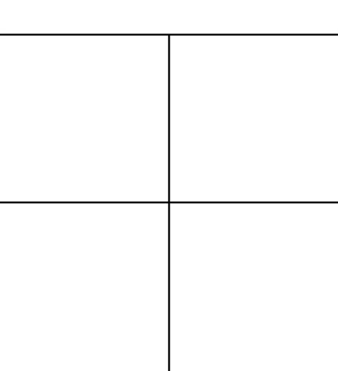 Comic Panel Template 4 panel comic template by justcallmesly on deviantart
