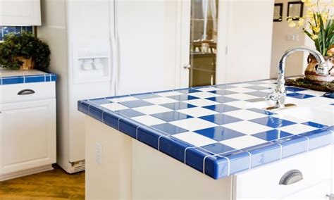 types of kitchen countertops best types of tile for kitchen countertops overstock