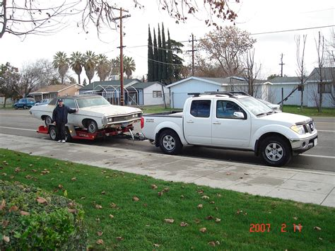 Nissan Frontier Towing by Nissan Frontier Redesign