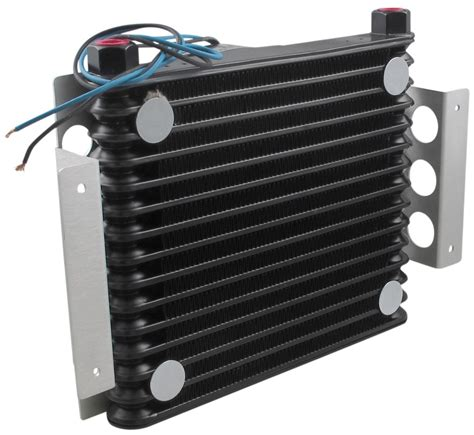 oil cooler with fan jeep cherokee derale atomic cool remote engine oil cooler