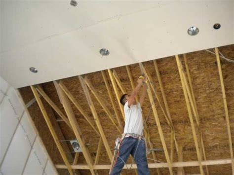 Ceiling Board Drywall Gypsum Board Ceiling Systems Ceiling Collapse And