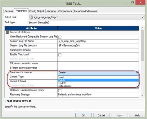 workflows in informatica session properties in informatica complete tutorial