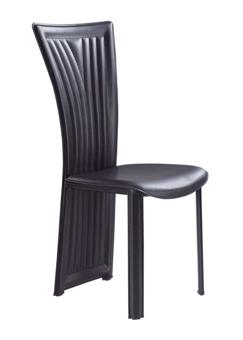 4 Black Dining Chairs Dining Chair 1513dc Set Of 4 Black By Global Furniture
