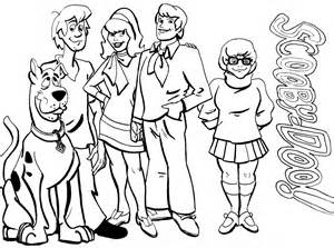 scooby doo colors printable scooby doo coloring pages coloring me