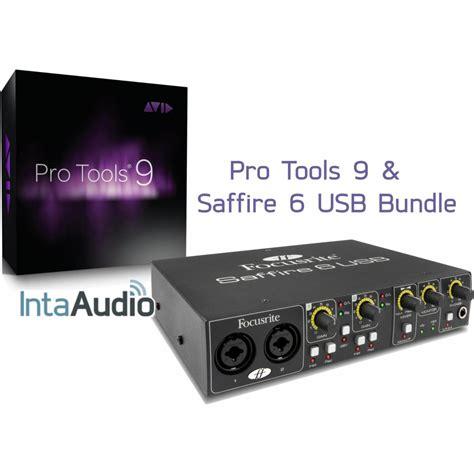 Sound Card Focusrite Saffire 6 Usb pro tools 9 focusrite saffire 6 bundle pro tools interfaces from inta audio uk