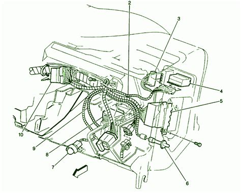 rear dome light 1996 wiring diagram 1996