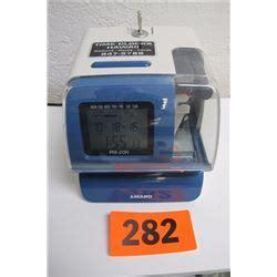 Amano Pix 200 Time Clock amano pix 200 time clock w key