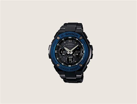 Casio G Shock Gst S110bd 1a2dr Tough Solar Stainless Steel Band 200m top 30 best solar powered watches for stylish sun