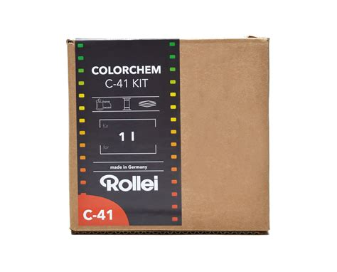 color developing rollei c 41 color developing kit 1 liter freestyle