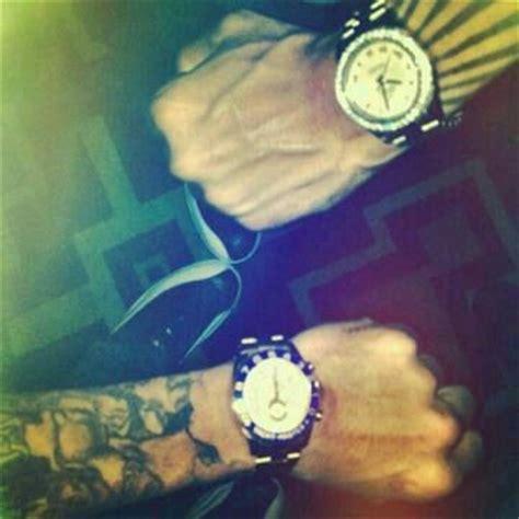 trey songz wrist tattoos trey songz chris brown arm tattoos many shades of