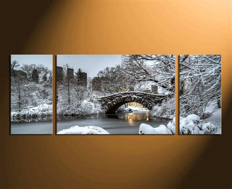 3 piece group canvas scenery wall art snow white tedx blog the most awesome idea of 3 piece