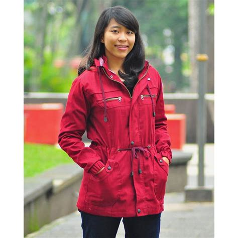 Jaket Blazer Mantel Wanita Parka Cewe Model Korea Canvas Winter Navy jaket parka wanita coat winter jaket jaket 12 warna stock terbatas elevenia