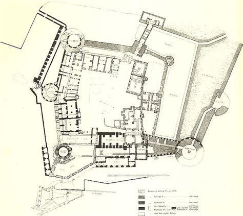famous castle floor plans heidelberg castle floorplan