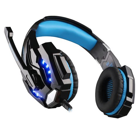 Kotion Headset Gaming Each Gs200 With Led Gamers Headphone Ktn Gs200 kotion each g9000 3 5mm gaming headphone headband headset