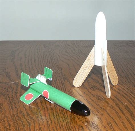 Paper Rockets - partial paper rocket builds the rocketry