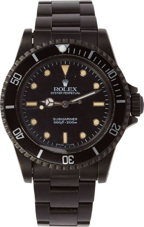 Rolex Black Limited black limited edition matte black limited edition rolex submariner 5513