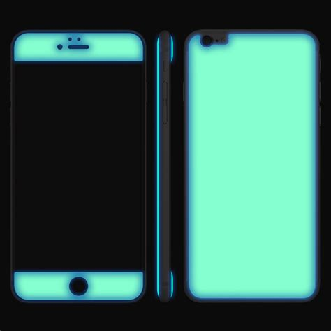 Green Iphone All Hp glow gel combo atomic neon green iphone 6 6s iphone 6 6s adaptation la touch